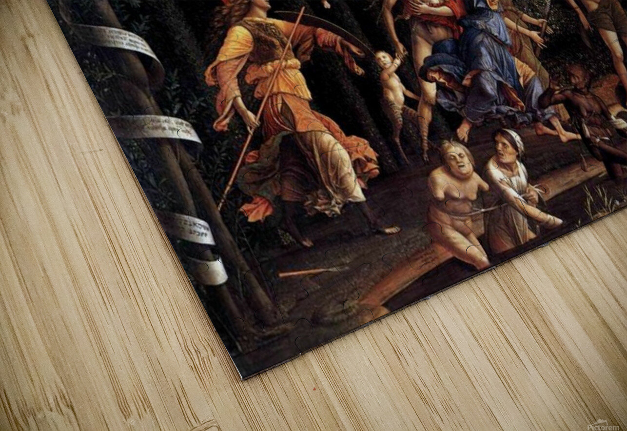 Pallas Expelling the Vices from the Garden of Virtue HD Sublimation Metal print