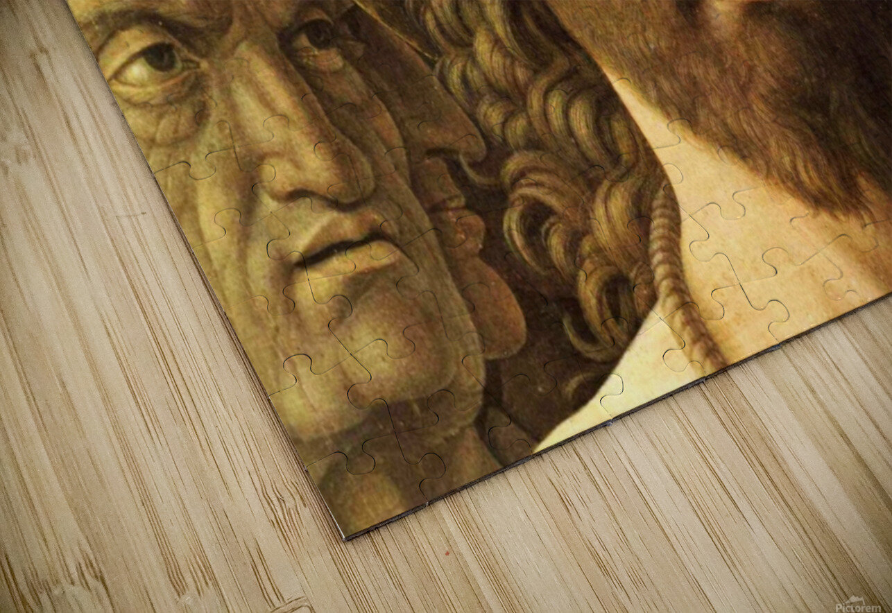 Ecce Homo detail HD Sublimation Metal print