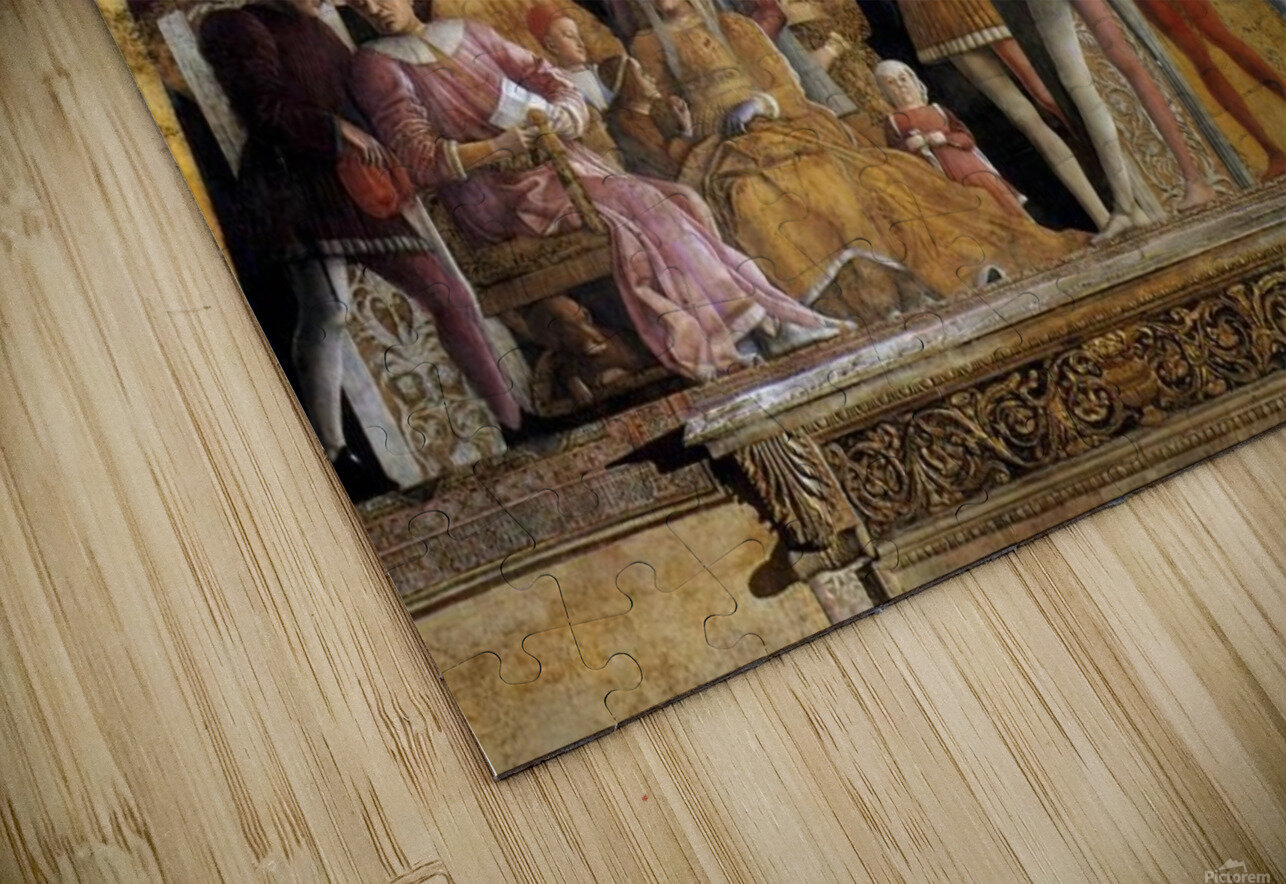 The Court of Mantua HD Sublimation Metal print