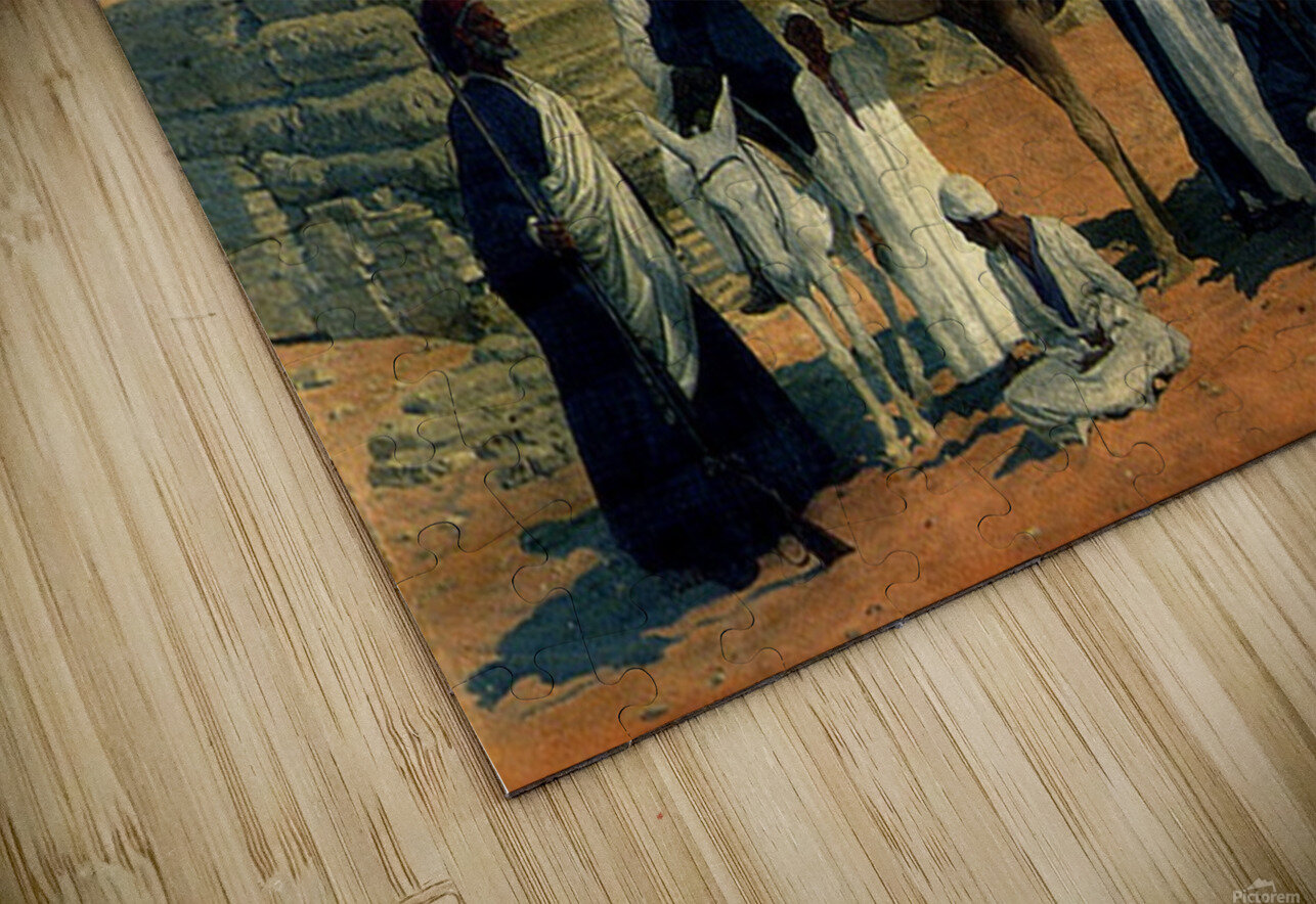 In search of the Pharaohs HD Sublimation Metal print