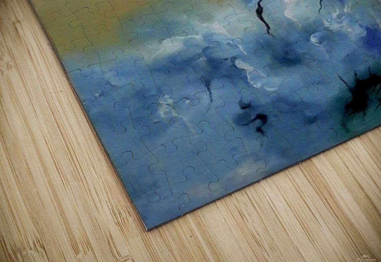 Depth in Venus HD Sublimation Metal print