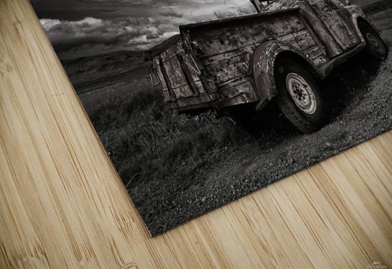Old Truck (mono) Impression de sublimation métal HD
