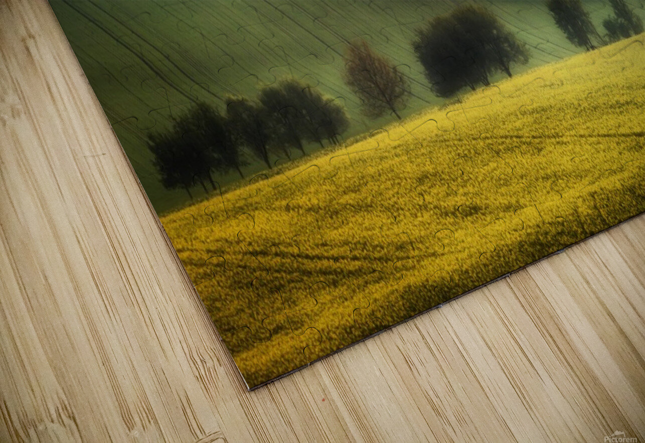 spring fields HD Sublimation Metal print