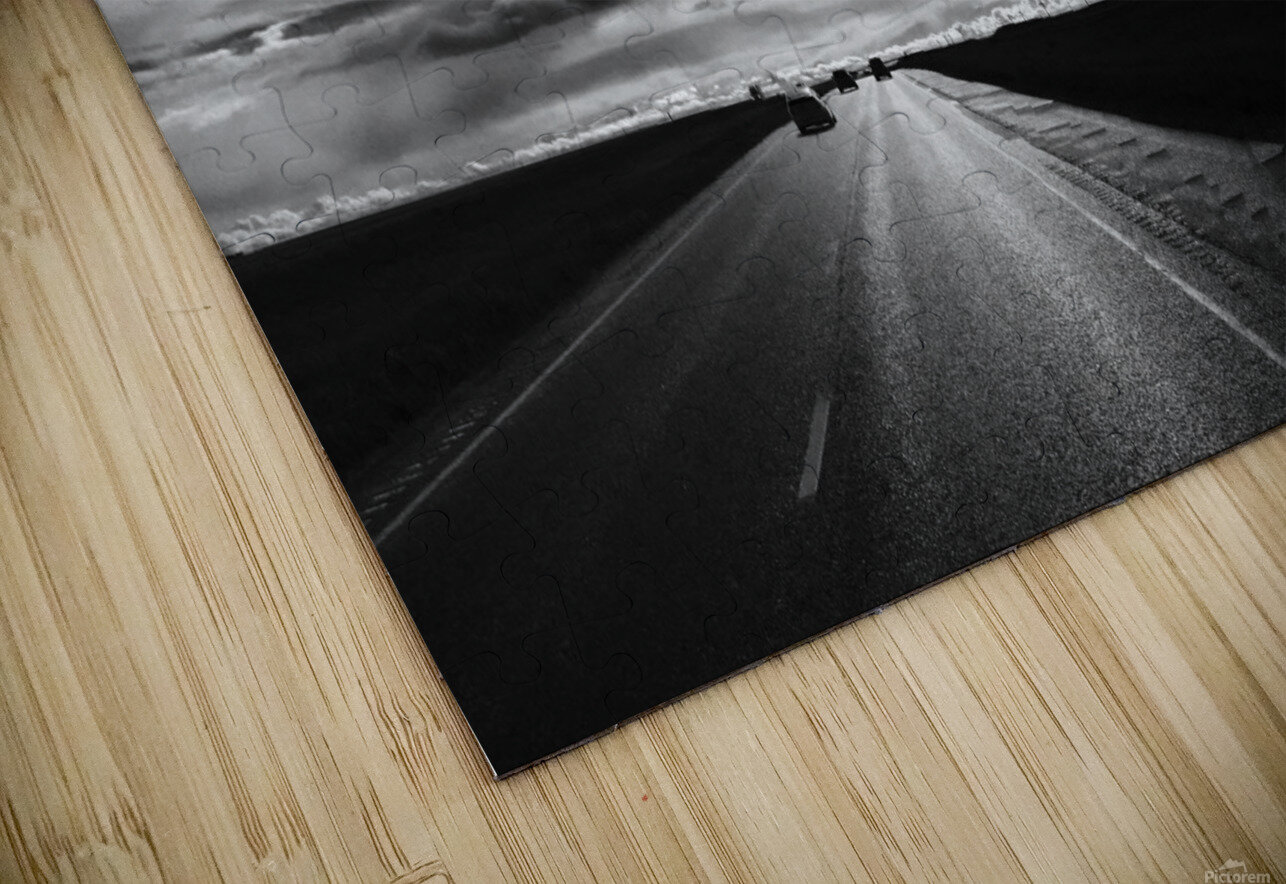 Open Road HD Sublimation Metal print