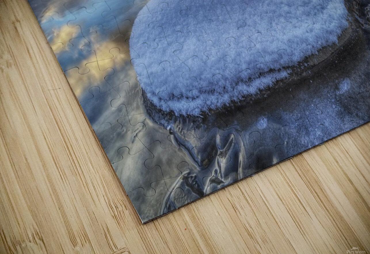 Kathleen Lake and Mount Worthington in Kluane National Park; Yukon, Canada HD Sublimation Metal print