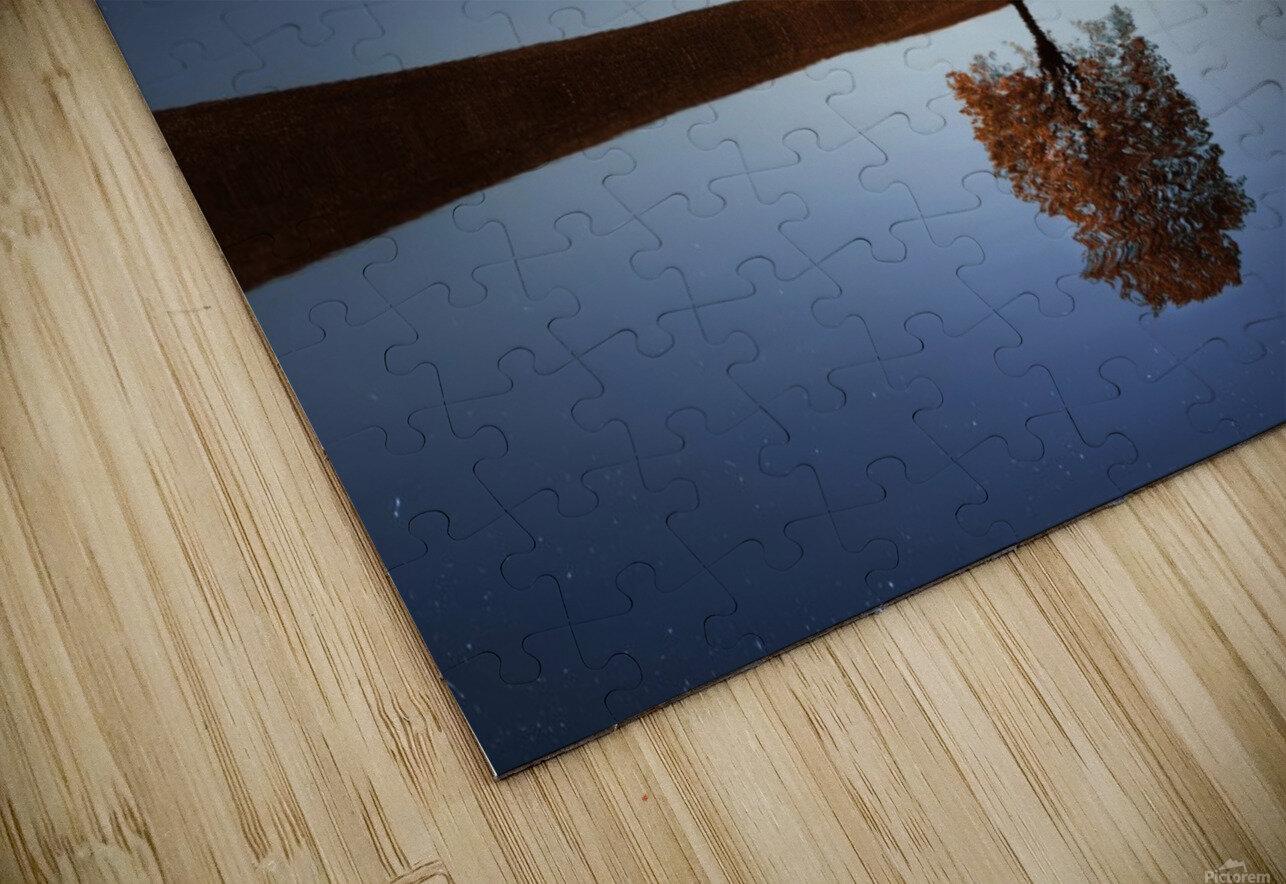 Reflection tre HD Sublimation Metal print