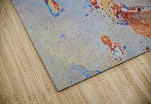 Beach of Mergellina puzzle