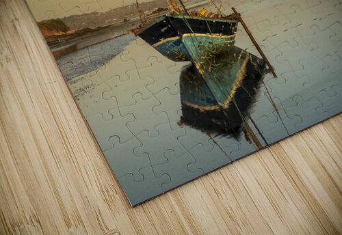Dhow in low tide; Pemba, Cabo Delgado, Mozambique jigsaw puzzle