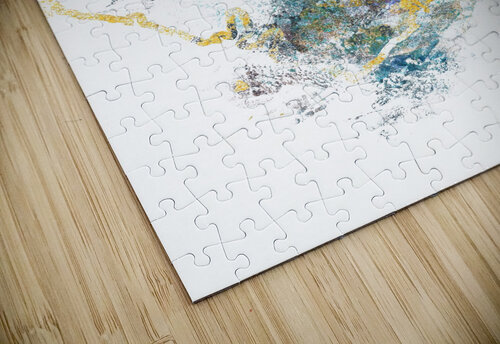 Natures Call - Abstract Painting III jigsaw puzzle