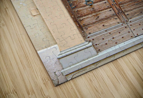 Old Wooden Door Tavernelle jigsaw puzzle
