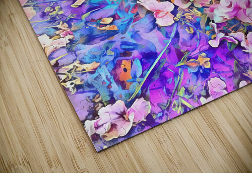Pink and Blue Fusion jigsaw puzzle