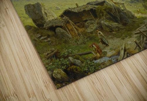 Blick von der Wengerenalp auf Eiger und Monch jigsaw puzzle