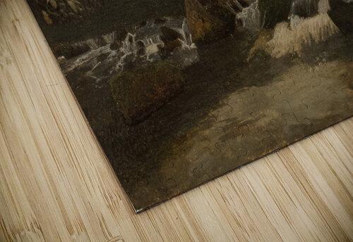 Landscape on a river jigsaw puzzle