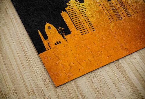 Naples Florida Skyline Wall Art jigsaw puzzle