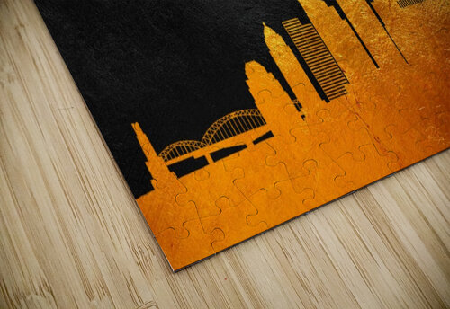 Pittsburgh Pennsylvania Skyline Wall Art jigsaw puzzle