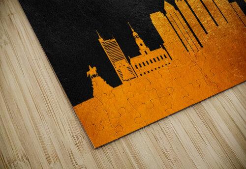Philadelphia Pennsylvania Skyline Wall Art jigsaw puzzle