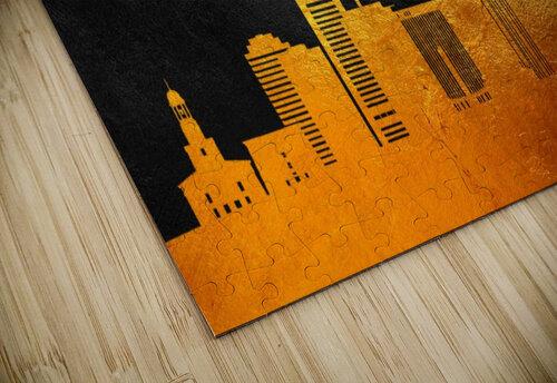 Richmond Virginia Skyline Wall Art jigsaw puzzle