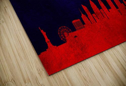 New York New York Skyline Wall Art jigsaw puzzle