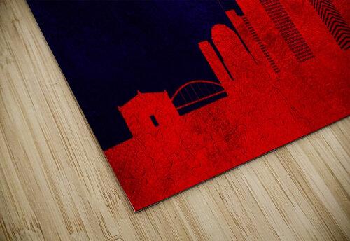 Nashville Tennessee Skyline Wall Art jigsaw puzzle