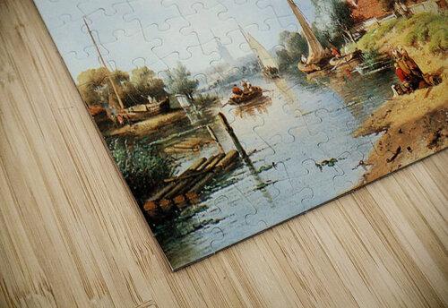 Summer river landscape jigsaw puzzle