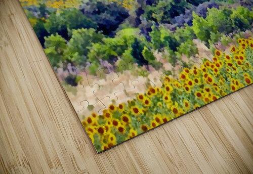Sunflower Landscape jigsaw puzzle