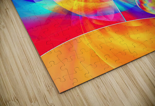 4th Dimension -Abstract Art XVII jigsaw puzzle