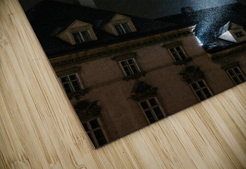 Snow by night jigsaw puzzle