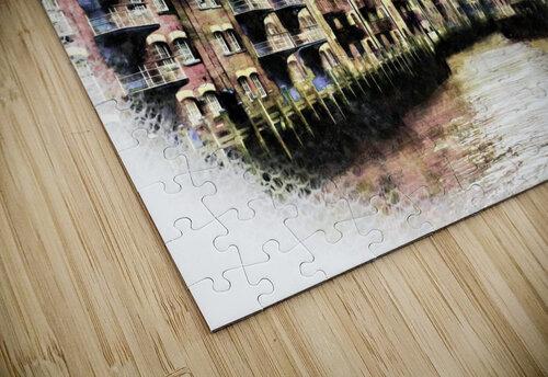 St Saviours Dock Bermondsey jigsaw puzzle