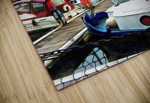 St Katharine Docks Boats 5 jigsaw puzzle