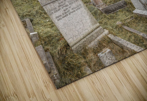 Cemetery in Llandudno, North Wales jigsaw puzzle