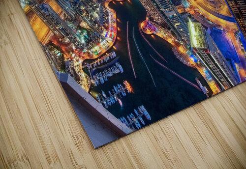 Dubai Colors of Night jigsaw puzzle