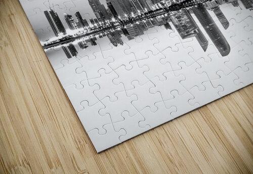 Abu Dhabi Urban Reflection jigsaw puzzle