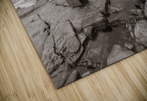 Boulders ap 2256 B&W jigsaw puzzle