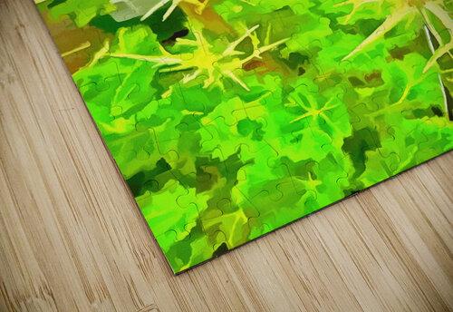 Eryngium Pop Art Style jigsaw puzzle