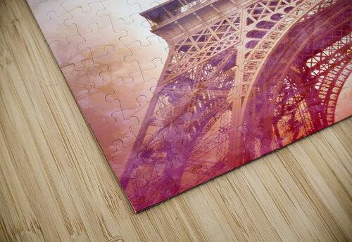 Modern-Art EIFFEL TOWER jigsaw puzzle