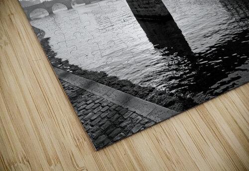 Pont des arts sunrise puzzle