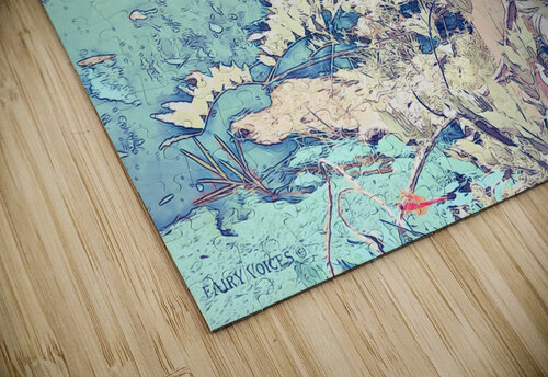 FAIRY AND THE LAKE  Art-Photo 1-4  jigsaw puzzle
