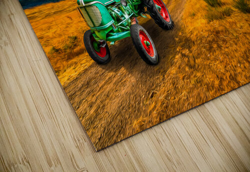 My Green Tractor jigsaw puzzle