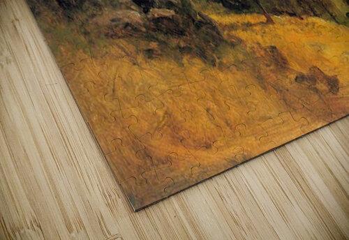 Wasatch Mountains Nebraska by Bierstadt jigsaw puzzle