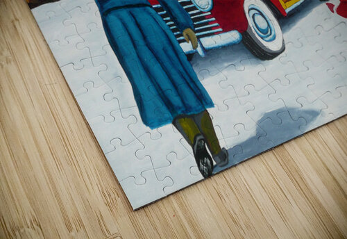Buying The Tree jigsaw puzzle