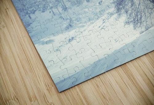 Snowy landscape jigsaw puzzle