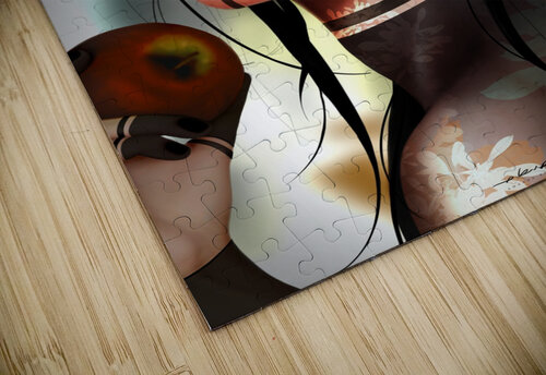 Eves apple jigsaw puzzle