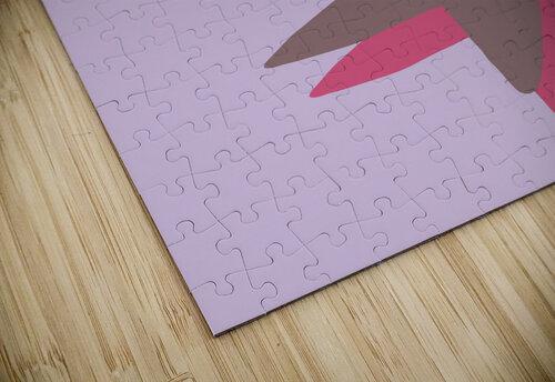 Lilac Star jigsaw puzzle