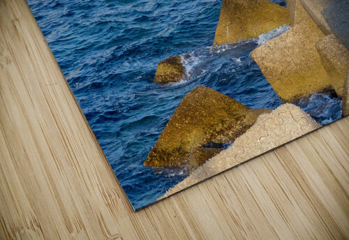 Cubes on the sea jigsaw puzzle
