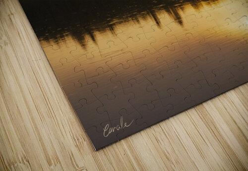 Lever de soleil sur le lac Earhart  2 - Sunrise on Earhart Lake 2 jigsaw puzzle