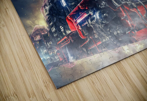 Ghost Train jigsaw puzzle