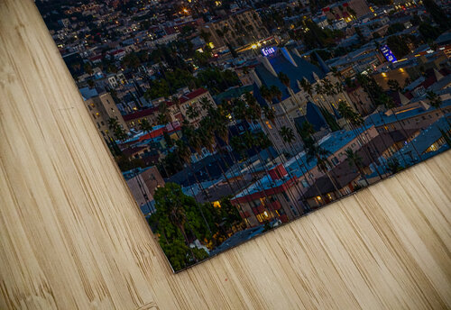 Los Angeles At Night jigsaw puzzle