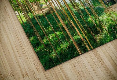 Bamboo jigsaw puzzle