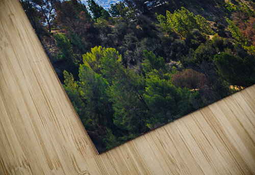Overlooking Griffith Observatory jigsaw puzzle
