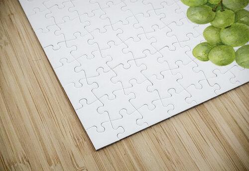 Green Grapes Wall Decor Vintage Botanical Poster Kitchen Art jigsaw puzzle